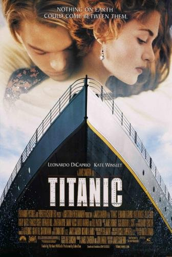Titanic - Leonardo DiCaprio Kate Winslet Movie Poster