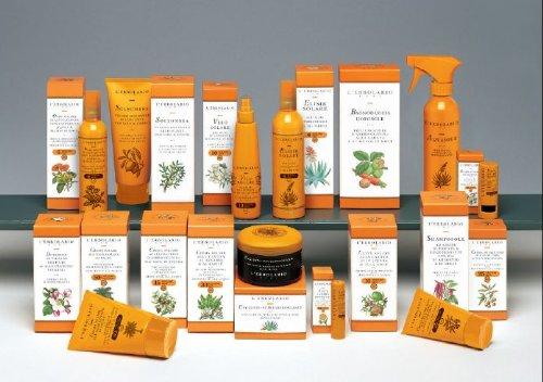 Lerbolario Sonnencreme mit Argan & Vitamin E, LSF 20 - 125 ml