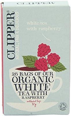2 Pack) - Clipper - Organic White Tea Raspberry | 26 Bag | 2 PACK ...