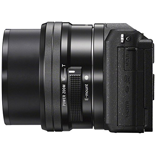 Sony 1080p Mirrorless Camera Black 16-50mm Lens Kit + 32GB Bundle + Bag + + + Flash Remote +