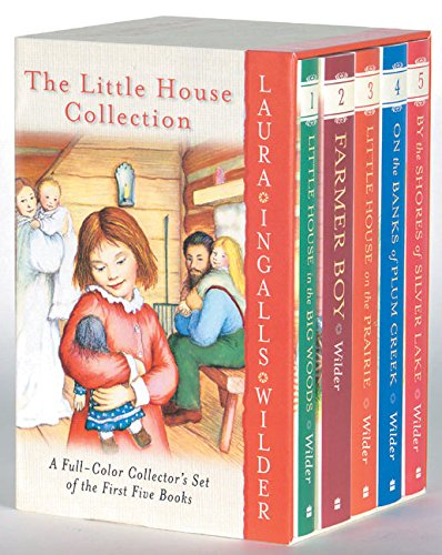 The Little House (5 Volume Set) : Laura Ingalls Wilder, Garth Williams:  8580001065465: Amazon.com: Books