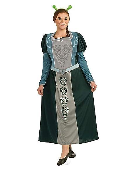 Princesa Fiona traje del tamaño extra grande
