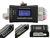 ATX BTX ITX Power Supply Tester Desktop PC Power Detector Fault Diagnosis LCD Display Black