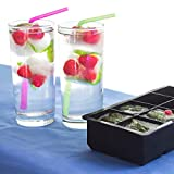 need it - Sphere Ice Molds - Ice Cube Tray Silicone - Combo Set of 2 - Best Round Ice Molds With Lid for Ice Cream, Fruit Ice - Large Square Ice Trays For Coctails, Whiskey - Chill Your Drinks