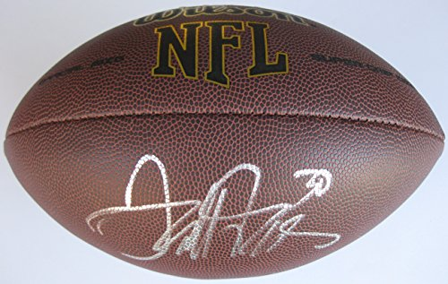 Terrell Davis, Denver Broncos, Georgia Bull Dogs, Signed, Autographed, NFL Football, a COA with the Proof Photo of Terrell Signing Will Be Included