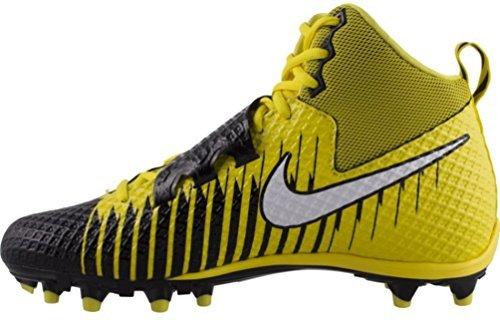 Nike Mens Lunarbeast PRO TD Football Cleats (9.5, Opti Yellow/White-black)