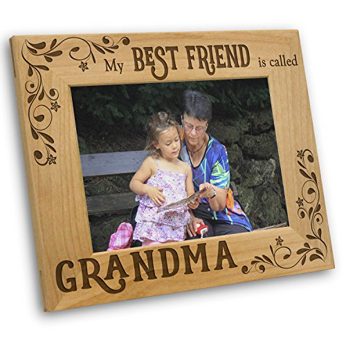 Best-Friend-is-Grandma-Picture-Frame-Mothers-Day-Gifts-Grandma-Gifts-Grandma-Frame
