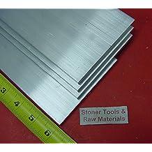 "1/"" X 10/"" ALUMINUM 6061 FLAT BAR 48/"" long Solid T6511 1.00/"" Plate Mill Stock"