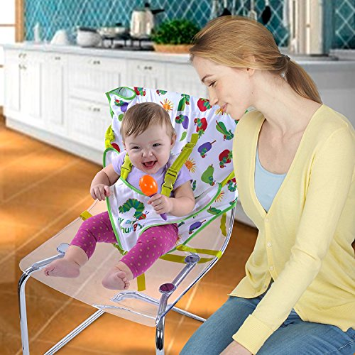 Eric Carle Very Hungry Caterpillar Portable High Chair by Eric Carle (Image #1)