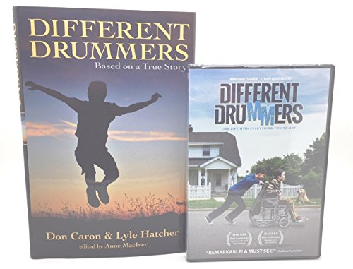 Different Drummers DVD Movie and Hardcover Book – based on a true story - Combo Pack