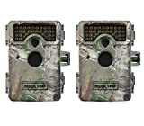 Moultrie M-1100i Mini No Glow Infrared Digital Trail Game Cameras, 2 | 12 MP