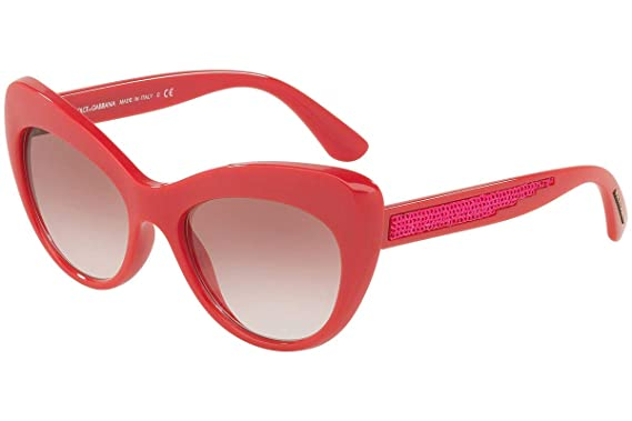 d492e7d9e03f Image Unavailable. Image not available for. Color: Dolce & Gabbana DG6110  Sunglasses Fuchsia w/Pink ...