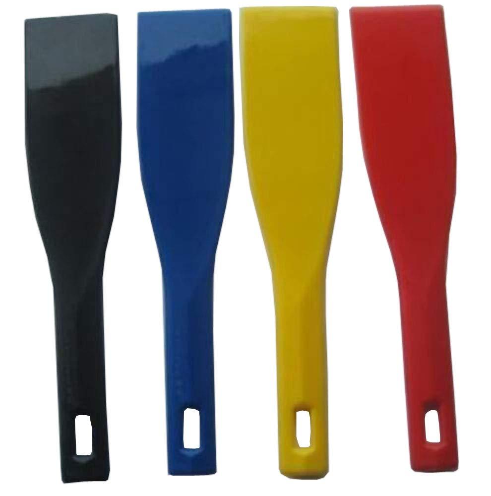 4 pcs Four Color Spatulas New Plastic Ink Scoop Screen Printing Shovel