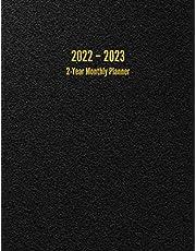 2022 - 2023 2-Year Monthly Planner: 24-Month Calendar