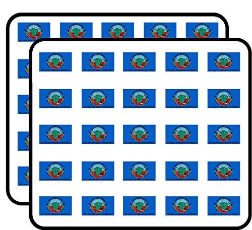 Bad River Band of Lake Superior Chippewas Flag (Tribe Native Indian) Sticker for Scrapbooking, Calendars, Arts, Kids DIY Crafts, Album, Bullet Journals (Bad River Band Of Lake Superior Chippewa Indians)