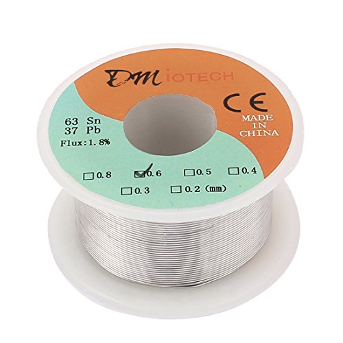 50g 0.6mm Tin Lead Rosin Core Solder Soldering Wire - 5