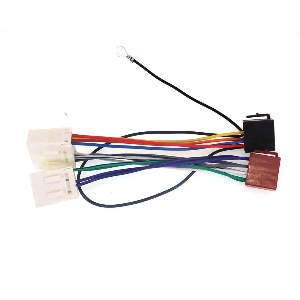 ZWNAV norma ISO cablaggio adattatore radio per Mazda 1987 - 2001 cablaggio per auto stereo lettore CD Plug Autostereo TECH
