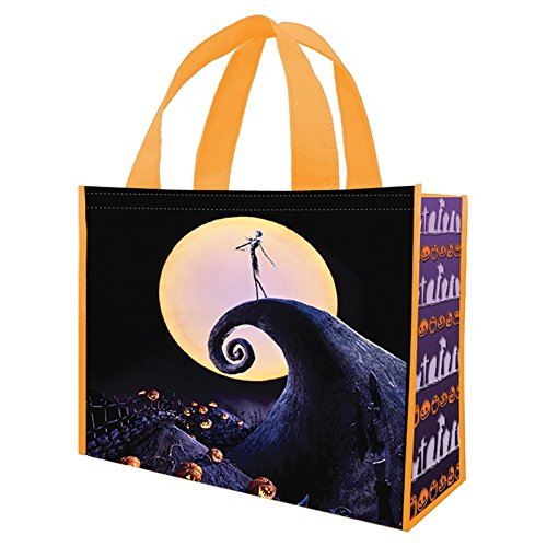 Vandor The Nightmare Before Christmas Large Recycled Shopper Tote, 12 x 16 x 6 Inches (84073)