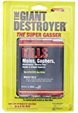Giant Destroyer Pest Killer Gas Bomb, Kills Moles, Gophers, Ground Squirrels, Norway Rats,...