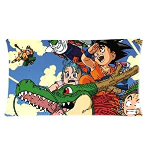 Generic Personalized Japanese Animation Dragon Ball Z Sold By Too Amazing Pillowcase Rectangle Pillowcase 20x36 (one side)