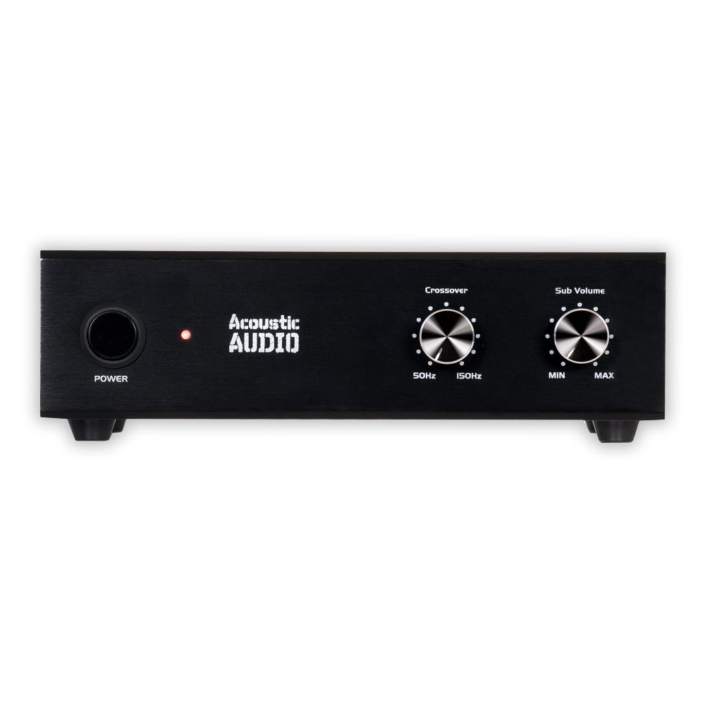 Acoustic Audio WS1005 Passive Subwoofer Amp 200 Watt Amplifier for Home Theater by Acoustic Audio by Goldwood