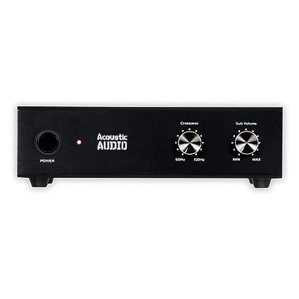 Amazon.com: Acoustic Audio WS1005 Passive Subwoofer Amp 200 Watt ...
