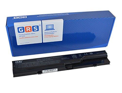 GRS® Notebook Akku für HP Compaq 625, 325, 425, 320, 620, 420, ProBook 4520s, 4320s, 4325s, HP 620, ersetzt: PH06, HSTNN-LB1A, HSTNN-UB1A, PH09, HSTNN-IB1A, HSTNN-Q78C-3, HSTNN-Q78C-4, 587706-131, HSTNN-W79C-5, 587706-761, HSTNN-Q81C, HSTNN-CB1A, 593573-001, 593572-001, BQ350AA, 587706-121, HSTNN-I86C, HSTNN-W80C, HSTNN-Q78C, 587706-421, Laptop Batterie 4400mAh, 10.8V