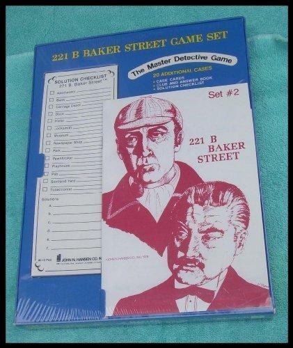 221b Baker Street Game - 221 B Baker Street Game Set H-02 Cases 21-40
