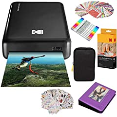 Effortless printing for your most precious moments.        Wish you could use or share your photos on your phone without visiting a photo shop? The Photo Printer Mini 2 by Kodak is here to set you free. Just tap your Android device on ...