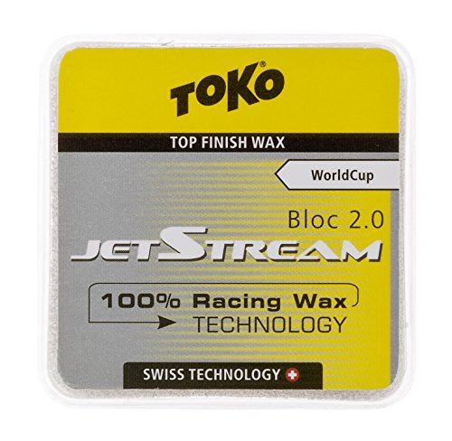 Toko Jet Stream 2.0 Powder Wax, 20gm, Yellow by Toko