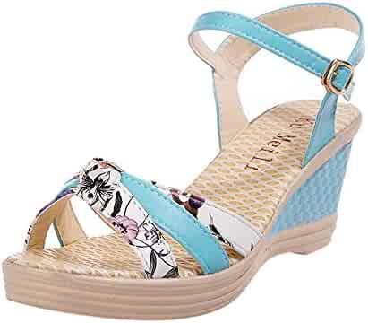 93389e3a11e40 Shopping Blue or Red - Sandals - Shoes - Women - Clothing, Shoes ...