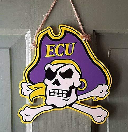 (Oxbay East Carolina ECU Pirates Decorative Mascot Ornament 8