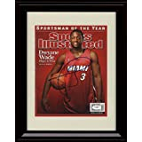 Framed Dwyane Wade Sports Illustrated Autograph Print