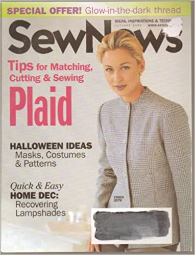 Ebooks download Sew News Magazine - October 2002 - Tips for Matching, Cutting and Sewing Plaid PDF ePub