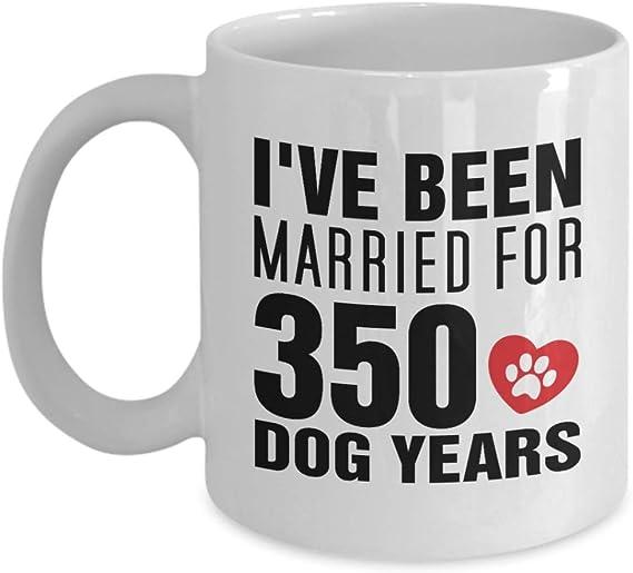 Rude cadeaux d/'anniversaire en chien ans tu es Mort Mug pour lui 21st 30th 40th 50th