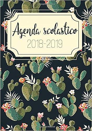 Amazon.com: Agenda 2018-2019: Agenda dello studente - Anno ...
