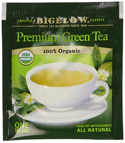 Bigelow Premium Green Tea 100% Organic, 150 Count