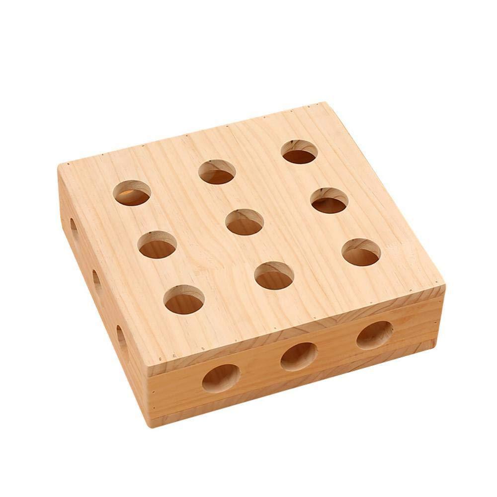 Hexiansheng Cat Climb Trees Cat Puzzle Toy Solid wood cat platform wooden cat litter Pet Supplies