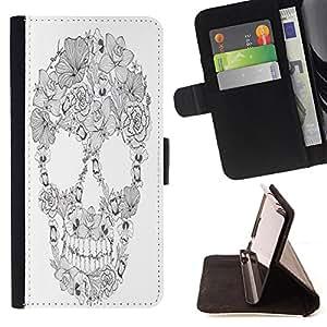 King Case - FOR LG Nexus 5 D820 D821 - always be by my side - Prima caja de la PU billetera de cuero con ranuras para tarjetas, efectivo Compartimiento desmontable y correa para la mu?eca