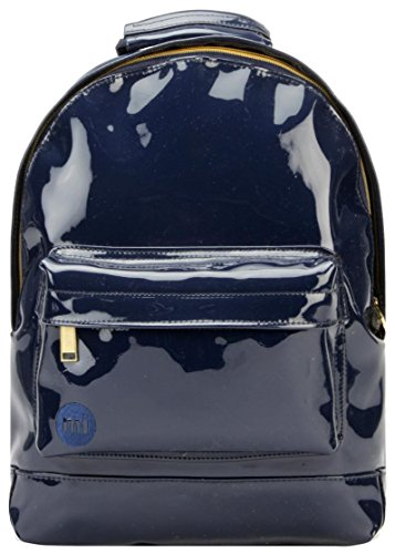 Mi Mini Patent Navy Size Gold Rose Pac Metallic One Rucksack FwC6rFxq