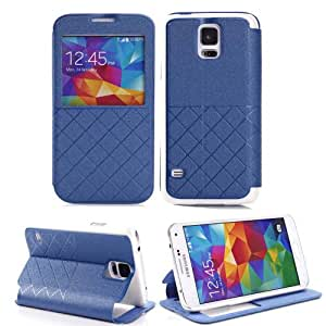 Samsung S5 Case, Samsung Galaxy S5 Case, Flipcase Premium PU Leather Wallet Case With Card Holder for Samsung Galaxy S5 i9600