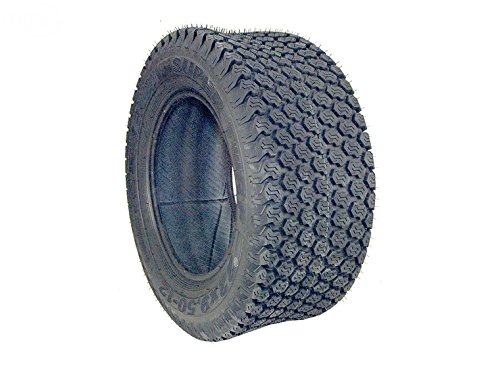 Mr Mower Parts 24X9.50X12 4 Ply TubeLess K500 Super Turf Tread Replaces Scag 484104 Fits Tiger Cub, Wildcat & Z-Cat. ()