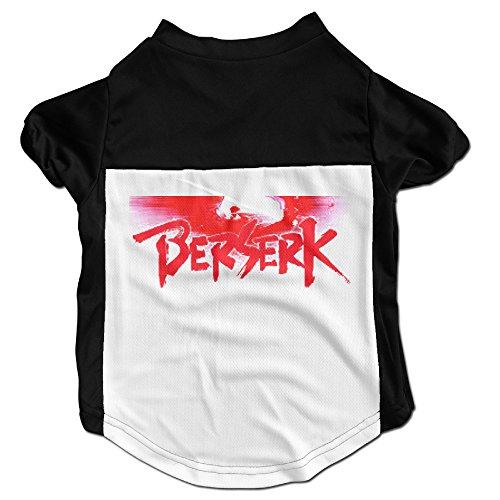[Berserk Logo Latest Puppy Dog Clothes Sweaters Shirt Hoodie Coats] (Joan Of Arc Costume Halloween)