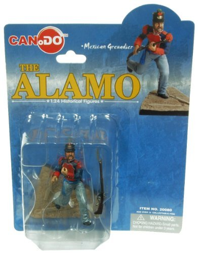 Toynk 1:24 Scale Historical Figures The Alamo Figure E Mexican Grendier from Toynk