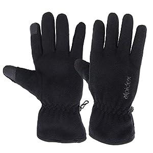 ALPIDEX Guantes de Lana con Thinsulate Guantes de Dedo con función de Tacto Unisex de Relleno Thinsulate 28