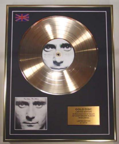 Phil Collins Cd Gold Disc Schallplatte Limited Edition Gesichtswert