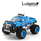 Lutema Blaze 4CH Remote Control Truck, Blue
