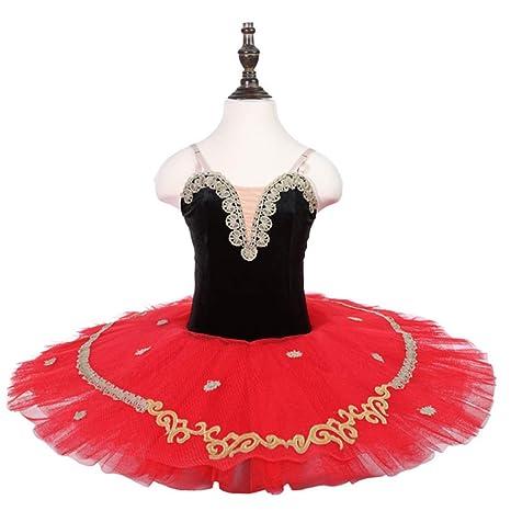 FENGHUAXUEYUE Avanzada Personalizada Falda de Ballet Falda Tutu ...