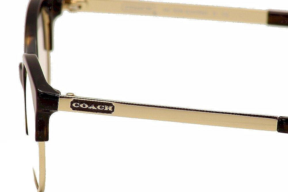Coach Lourdes Eyeglasses HC5034 9131 Dark Tortoise Demo Lens 51 18 135