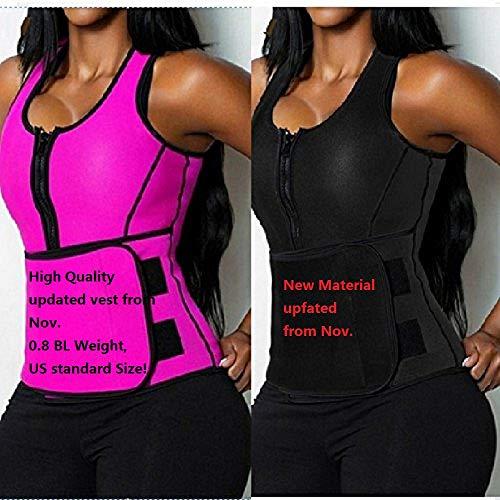 shoppingmal 2018 Women Sweat Neoprene Sauna Waist Trainer Vest Hot Shaper Sport Vest Slimming Adjustable Sweat Belt